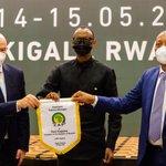 Image for the Tweet beginning: 🔴 LIVE fron KIGALI #CAF#CAFOnline #football