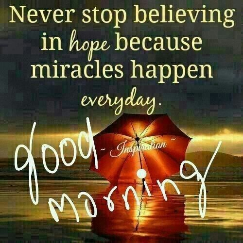 Happy Saturday to all my friends. Please never stop believing, having hope as this is when the message will be brought to you. #believe #hope #love #saturday https://t.co/s302UTGhCL