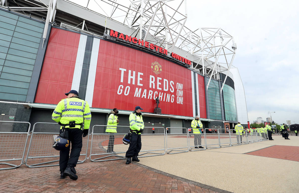Manchester United fans back in Old Trafford on Tuesday night https://t.co/aNKmU6Yki8 #MUFC #ManUTD #United https://t.co/t1zN6fuWhs