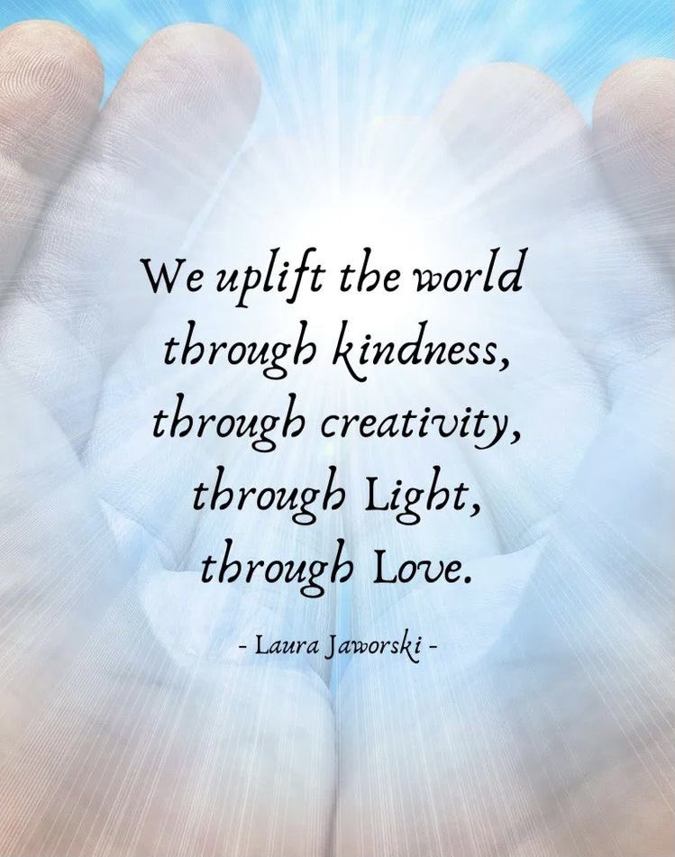 We uplift the world through #kindness #creativity #light and #love 🕊🕊💎🤍💎🕊🕊  #JoyTRAIN #SaturdayThoughts #ThinkBIGSundayWithMarsha  #LightUpTheLOVE #LUTL  #GoldenHearts #appreciation #OneTeam #Kindnessiscool  #ChooseLove #StarFishClub #KindnessMatters #Gratitude