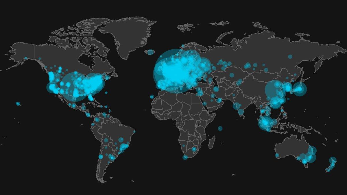 Quanti sono i bancomat di Bitcoin nel mondo?