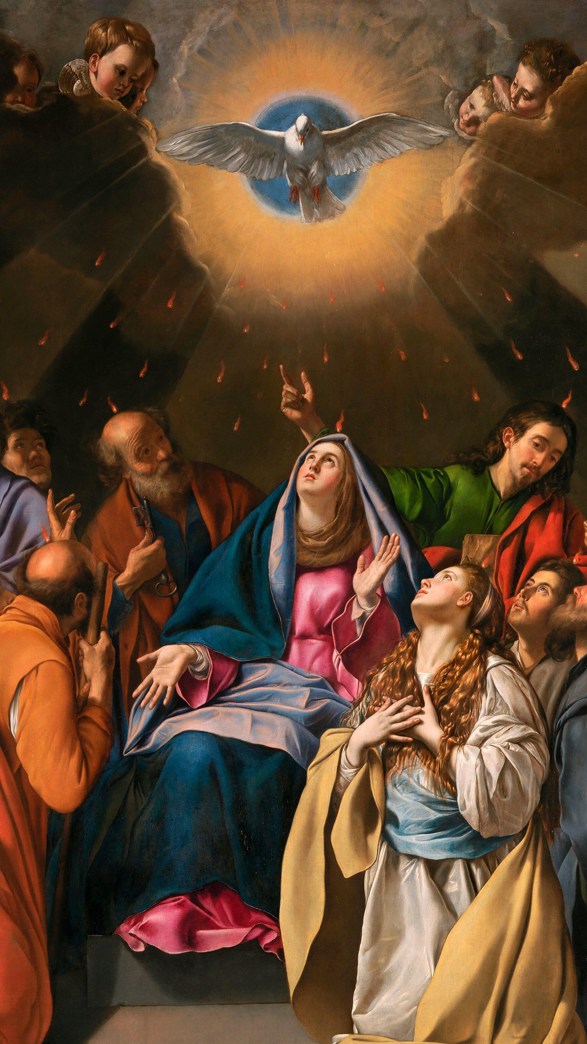 Wallpaper de Pentecostes, Espírito Santo