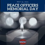 Image for the Tweet beginning: Today is #PeaceOfficersMemorialDay. Please join