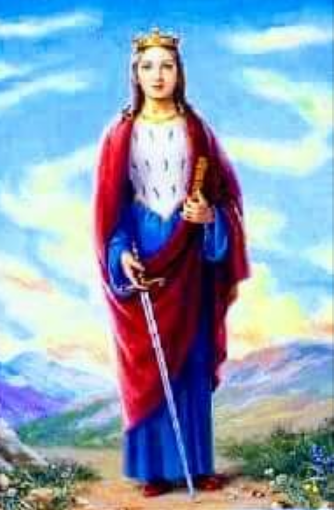 Today is the Feast of St. Dymphna, a virgn martyr too little known and venerated!