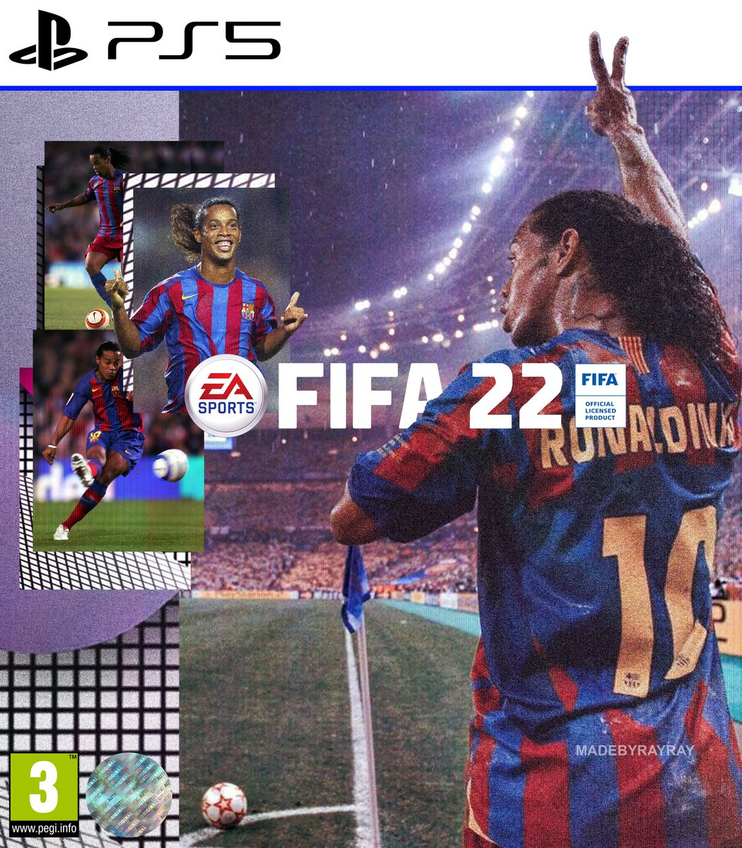 RT @MADEBYRAYRAY: FIFA 22 Concept covers by me.  [FC Barcelona x Real Madrid CF] https://t.co/1cGPVtbB7S
