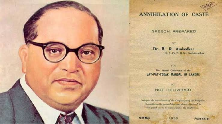 @AmbedkarOnline Dr. Baba Saheb Ambedkar's Book 'Annihilation Of Caste' Published on this day, in 1936.  #AnnihilationOfCaste #CasteintheUS #BabaSahebAmbedkar https://t.co/tFue1VKqAx https://t.co/ADABpgr08n