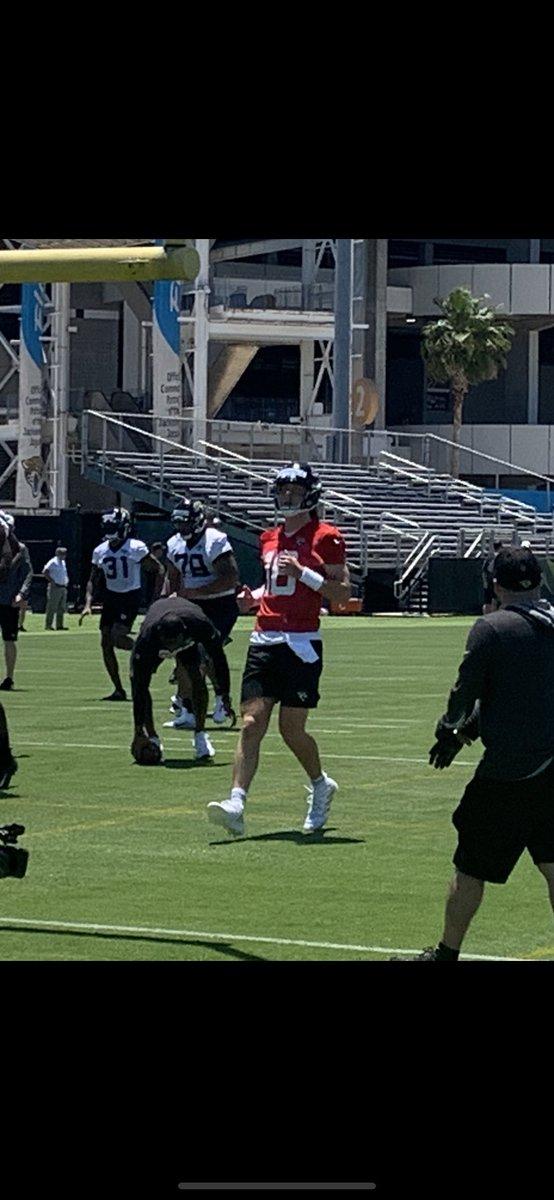 RT @JohnOehser: Jaguars rookie QB Trevor Lawrence https://t.co/InliSkMdvr