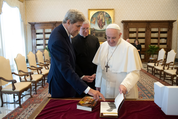 """If there is a climate crisis, it's definitely not one that will be solved by characters like """"Pope"""" Francis..."""