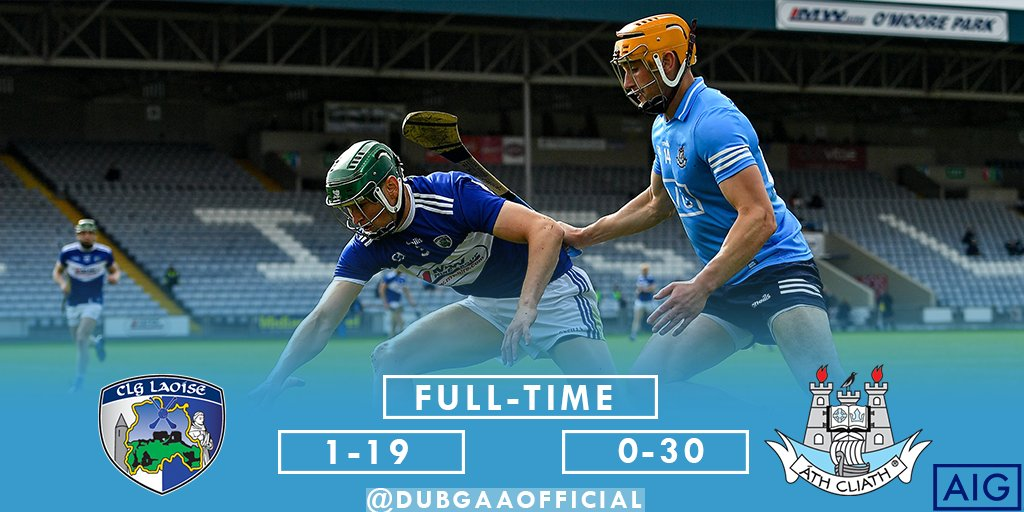 test Twitter Media - All over in Portlaoise & it's a first win of the League campaign for our Senior Hurlers 💪👕  #UpTheDubs https://t.co/HzCJQlSdFo