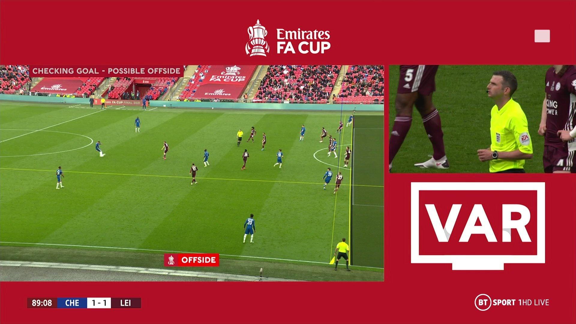 Фінал Кубка Англії. Челсі - Лестер 0:1. 137 років очікування - изображение 1