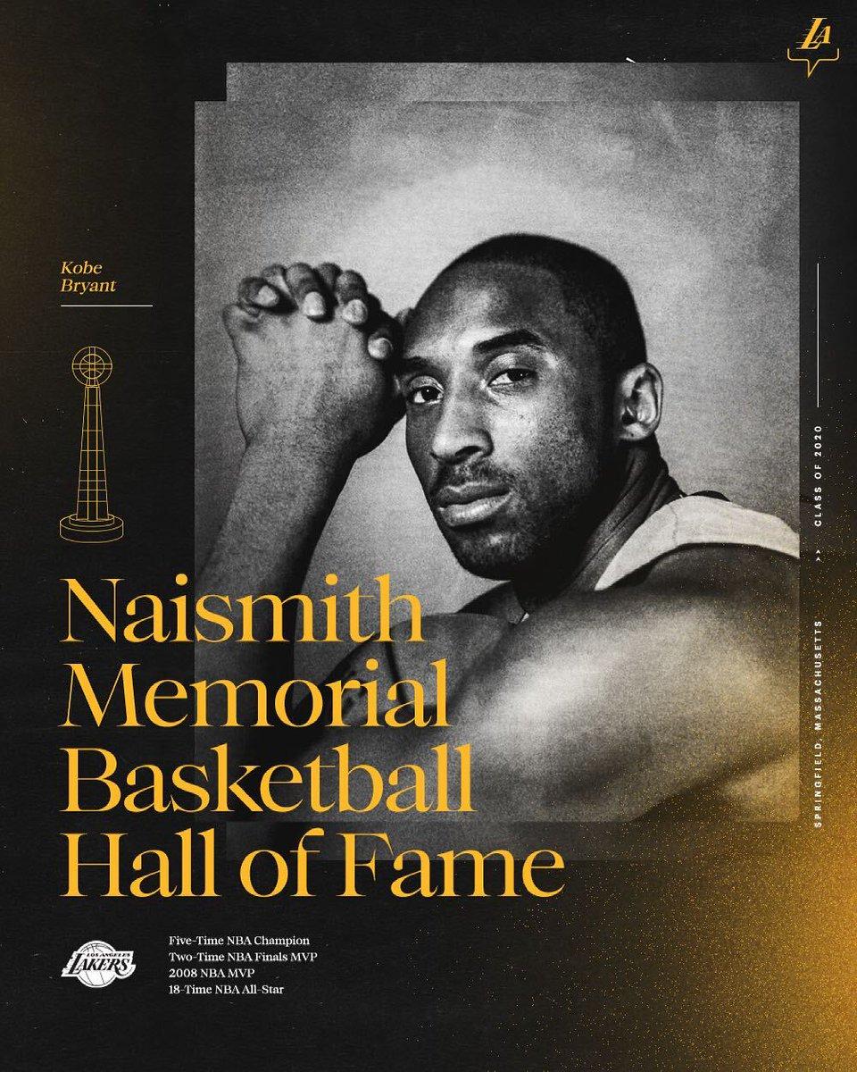 RT @Lakers: Kobe Bryant: Hall of Famer https://t.co/dk8rtjX8b4