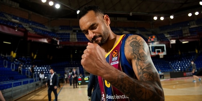 On the brink of dropping a second game on its home court to open the playoffs, FC Barcelona was buoyed by big and timely performances from an array of its bench players. #turkishairlines https://t.co/Z4UThFuPvq https://t.co/e5ekf9qvQL