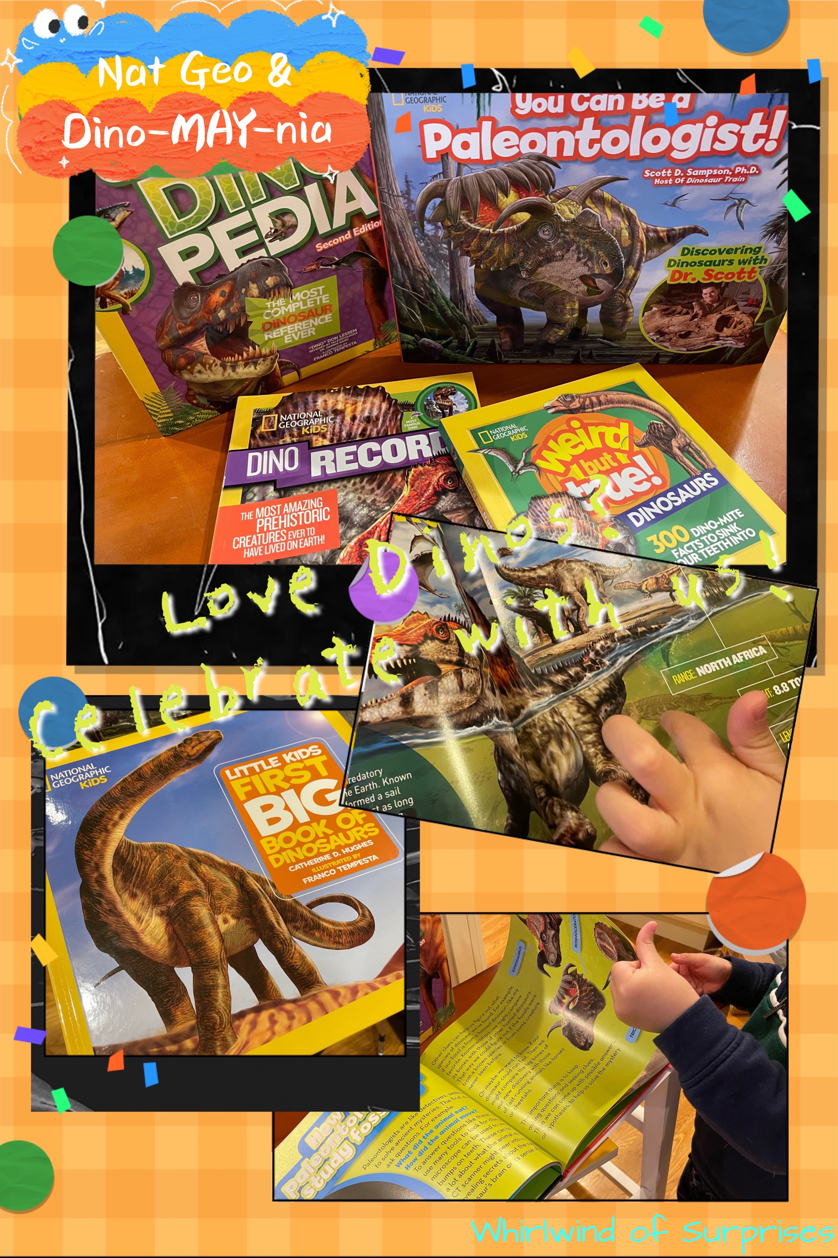National Geographic Dino book collection