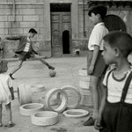 Image for the Tweet beginning: Soccer in the Street. Sicily.