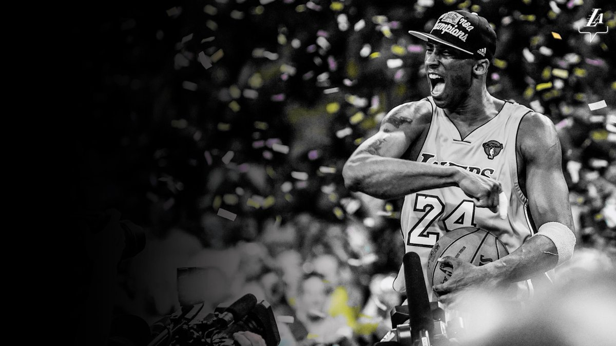 RT @Lakers: You changed the game. You inspired the world. Thank you, Kobe.   #MambaForever x #20HoopClass https://t.co/mHp0A3eOE7
