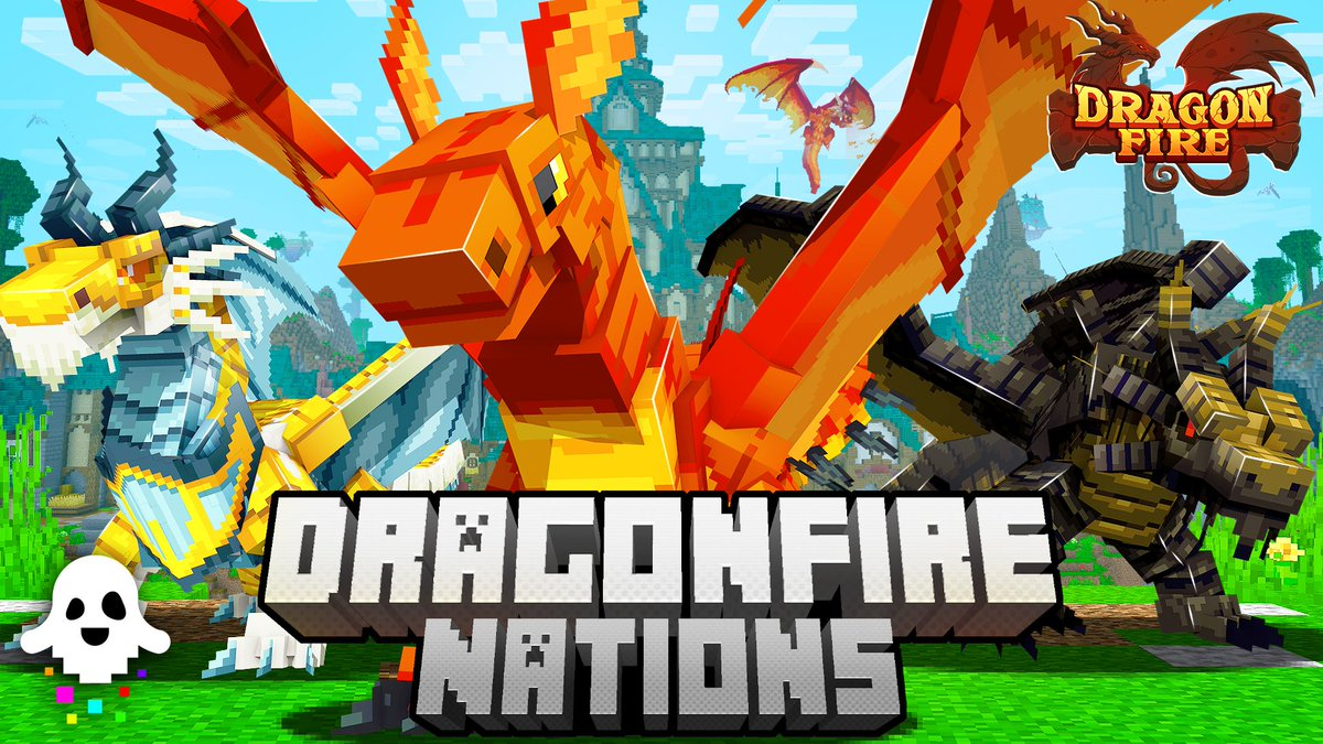 """Spectral Studios on Twitter: """"Something is on the horizon. More to be revealed soon... #dragonfire #MinecraftPE #dragons… """""""