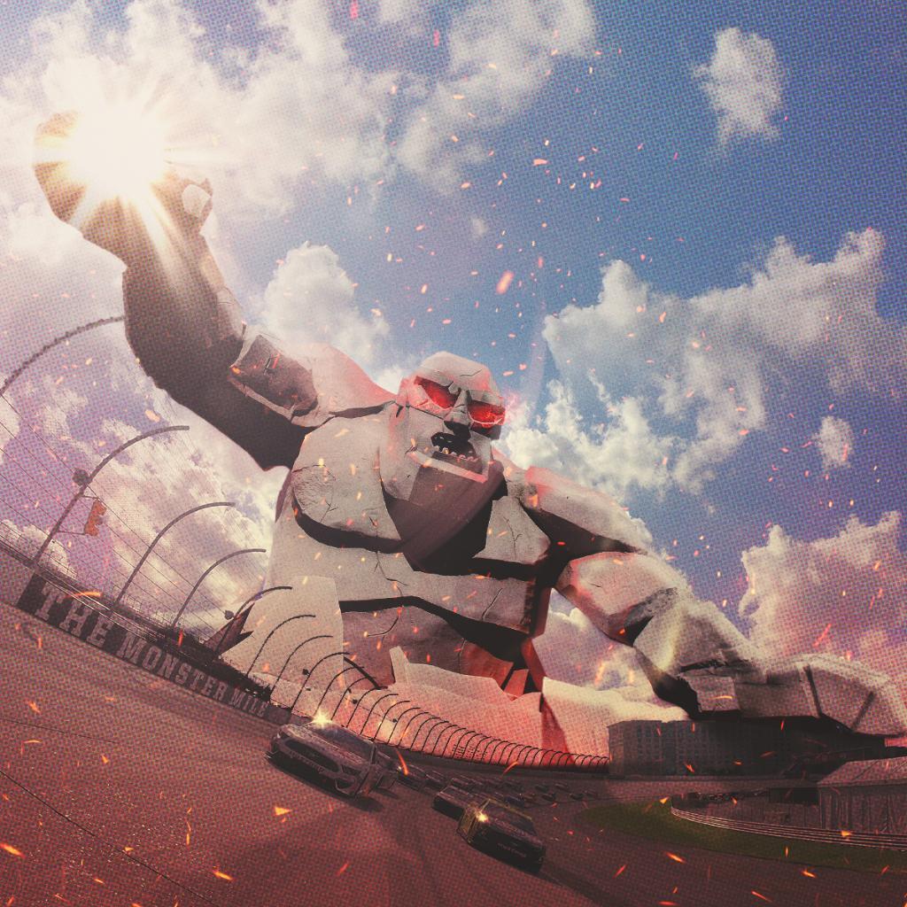 https://t.co/EYOZRaEvex: Outrun Miles... ...if you can!  @MonsterMile | #NASCAR https://t.co/eJrQdGzahR