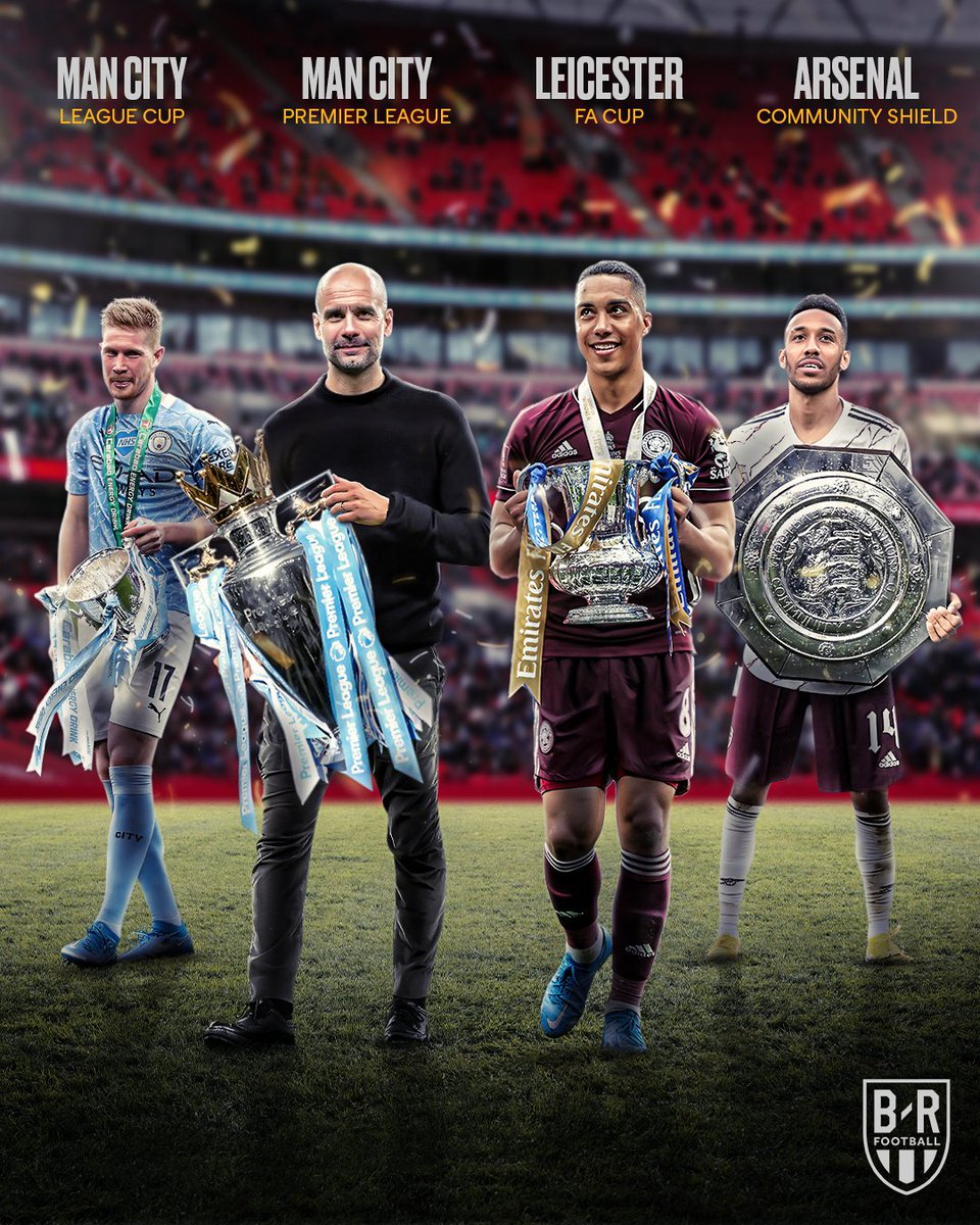 The trophies in England this season 🏆 https://t.co/oTvdKtmeR5