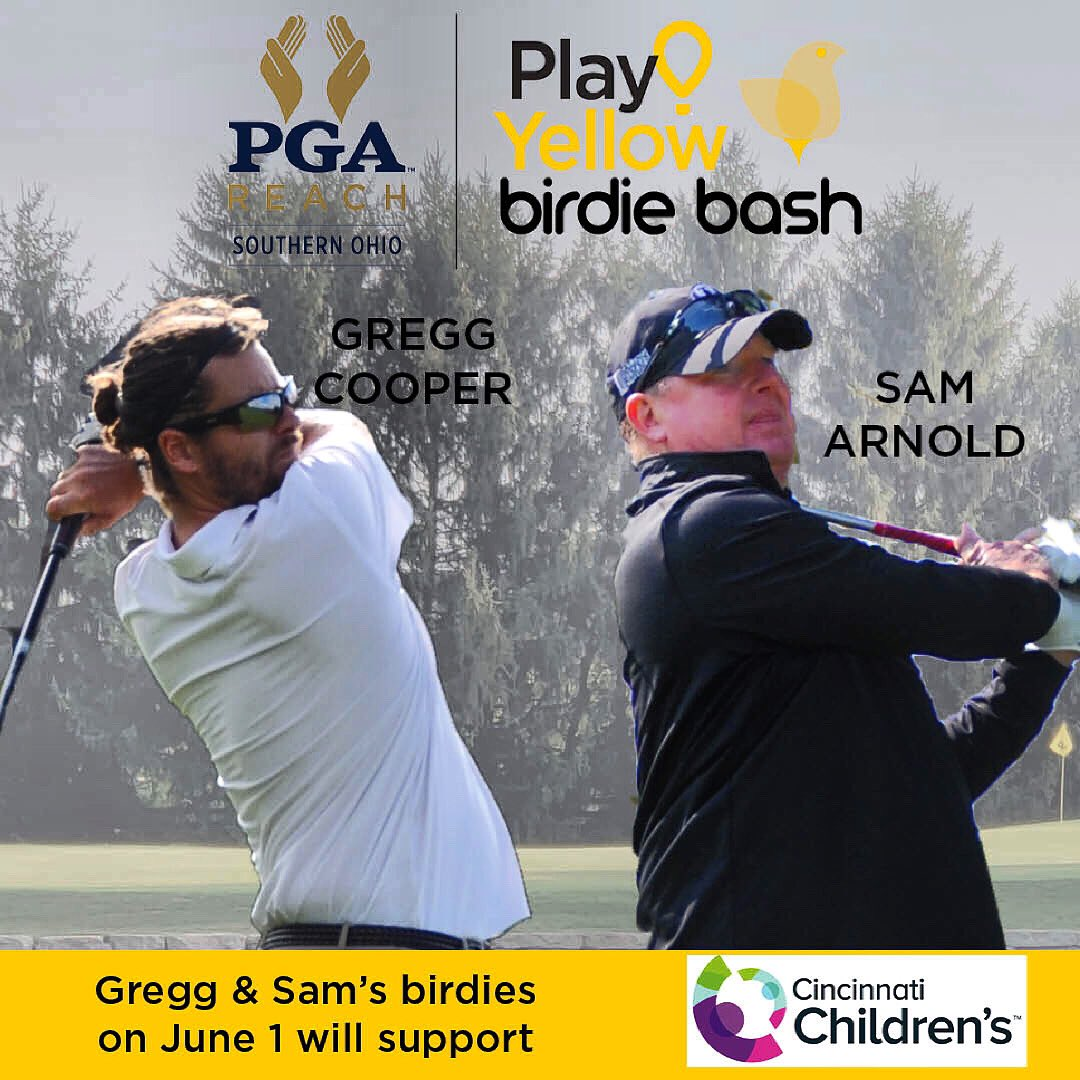 We can't wait to see how many birdies Gregg & Sam make at the #BirdieBash!