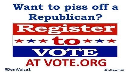 Check out https://t.co/7bVHv6DBEg for great voting info  The site includes instructions for checking registration status, registering, voting by mail, election reminders & a pledge to vote for those under 18, per state  #DemVoice1 #wtpBLUE https://t.co/Bk5korkSbw