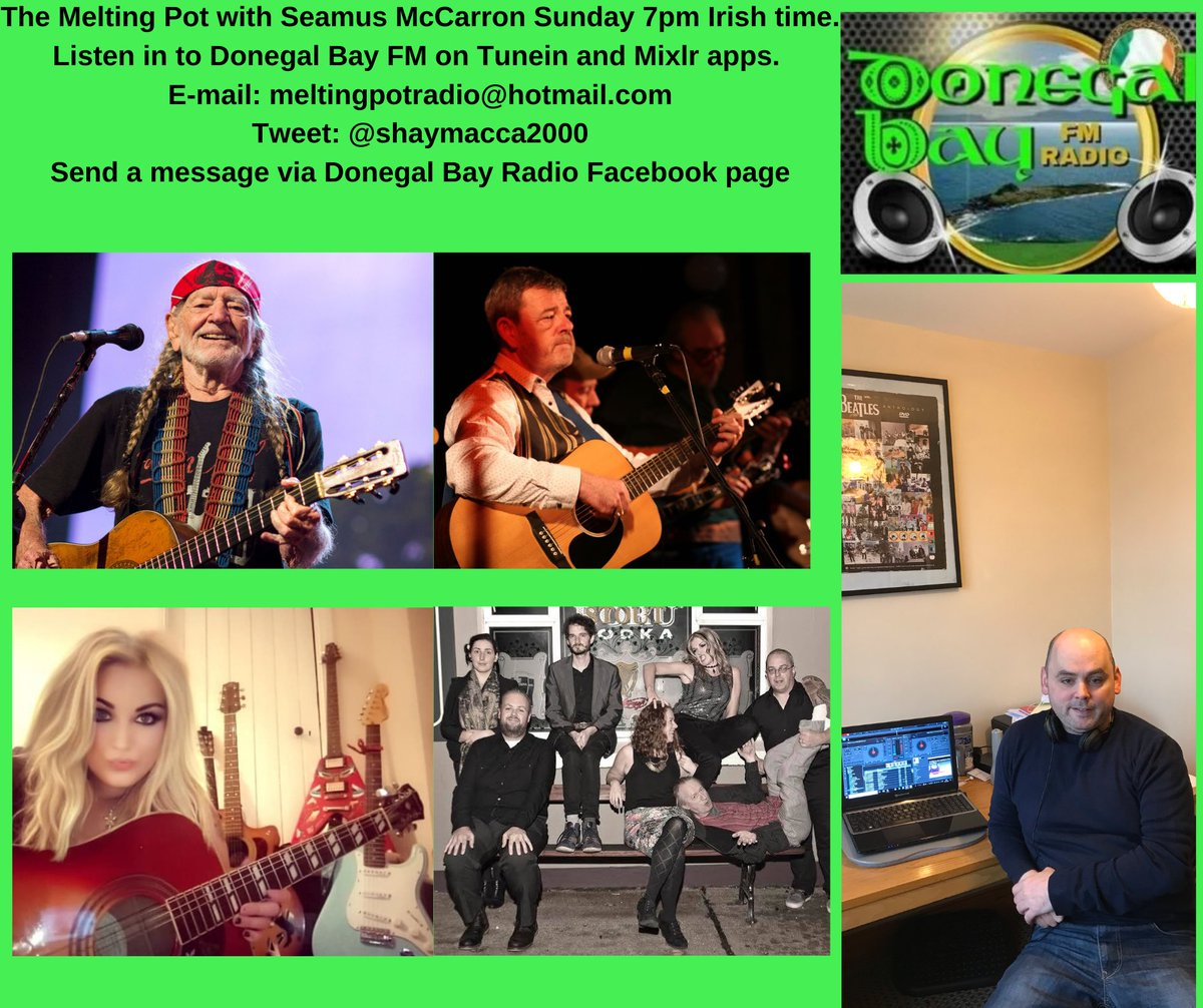 Today on the show we have music from Travis, Duffy and Duke Special among others. Willie Nelson is our doubleplay and local artists are @RGBmusic58 with his new Single Liberty, @GemmaHeaney1 , and @GreatWhiteLies . Please join me if you can. https://t.co/ORWOKdTA9r