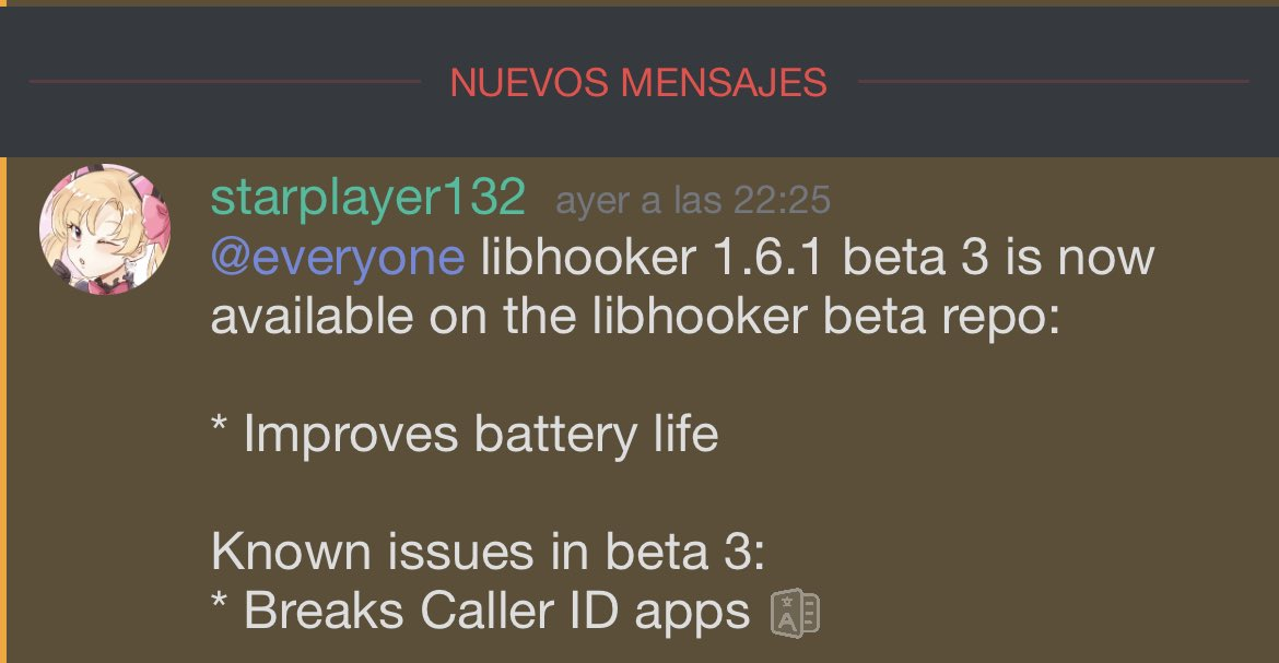 libhooker updated to v1.6.1 with bug fixes