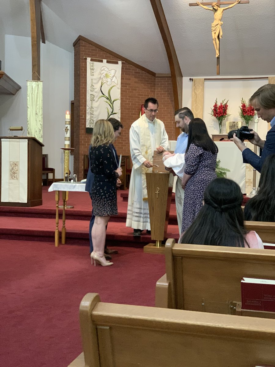 Thank you for inviting me to the baptism of Aaron Michel II, @pilkingtonforar. It was a beautiful day and a very special moment. Always good to see you, @ARAuditor, as well. https://t.co/ubr4kehWO7