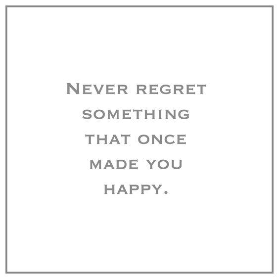 Replying to @iamjohn___: Never regret something that once made you happy. #LightUpTheLove #thinkbigsundaywithmarsha