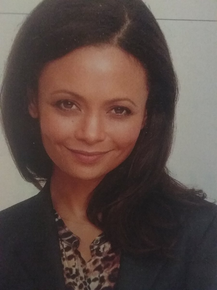 Thandie Newton(real name, is: Thandiwe Newton), British actress, who has made mostly American movies,  who is an vegan, and believes that women, who are 40, still can be sexy. Born November 6, 1972. She was granted the OBE (Officer, of the British Empire- granted by the Queen). https://t.co/ALEzcK4XMv