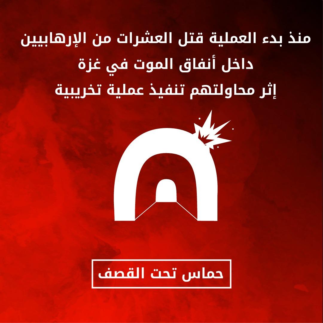 رسالة من فرقة غزة لنشطاء حماس الأنفاق الإرهابية مصيدة موت  – تجنبوها! خطيئة حماس حماس تحت القصف …