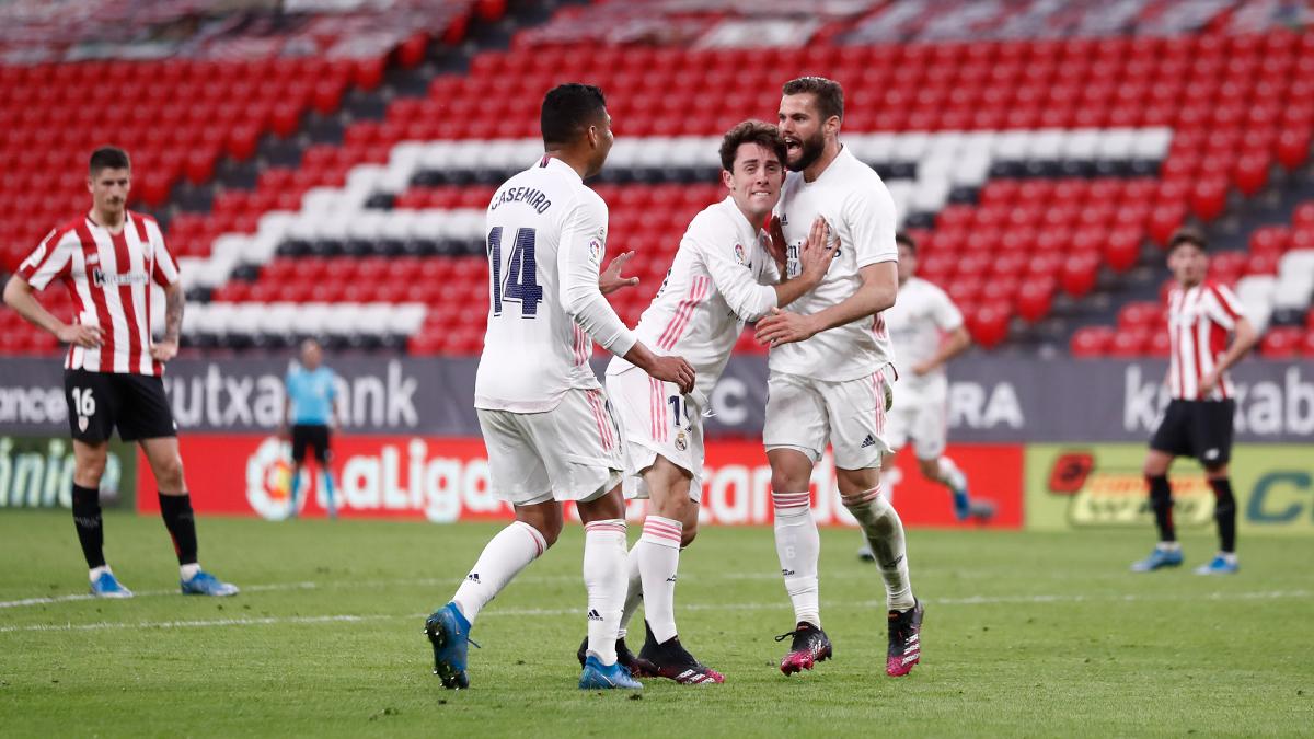 ناتشو يقود ريال مدريد لتحقيق فوزا قاتلا على أتلتيك بلباو