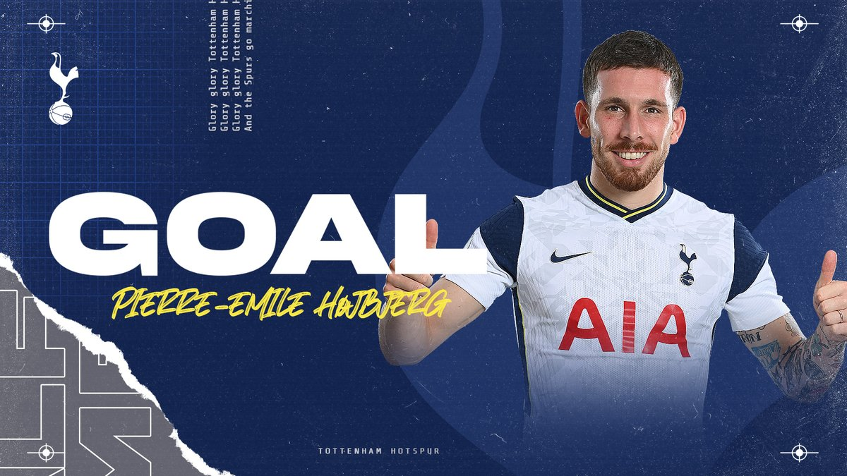62 - GOAL! Excellent work by Sergio to threaten the Wolves defence and @hojbjerg23 finds the net from close range!   ⚪️ #THFC 2-0 #WWFC 🟣
