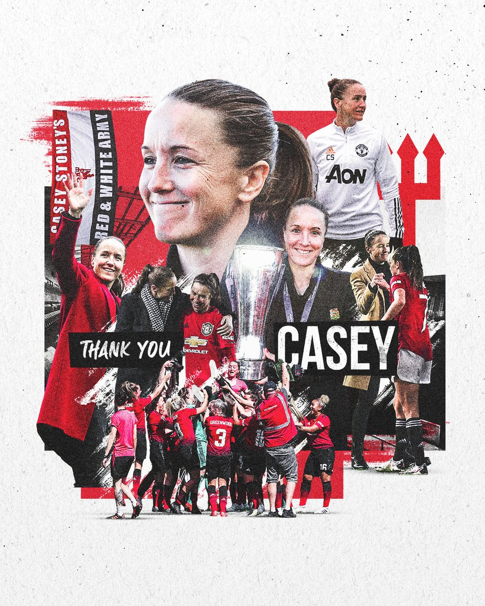 Forever a part of our history 📜   Thank you for everything, @CaseyStoney 🔴   #MUWomen https://t.co/4drDQSkbvU