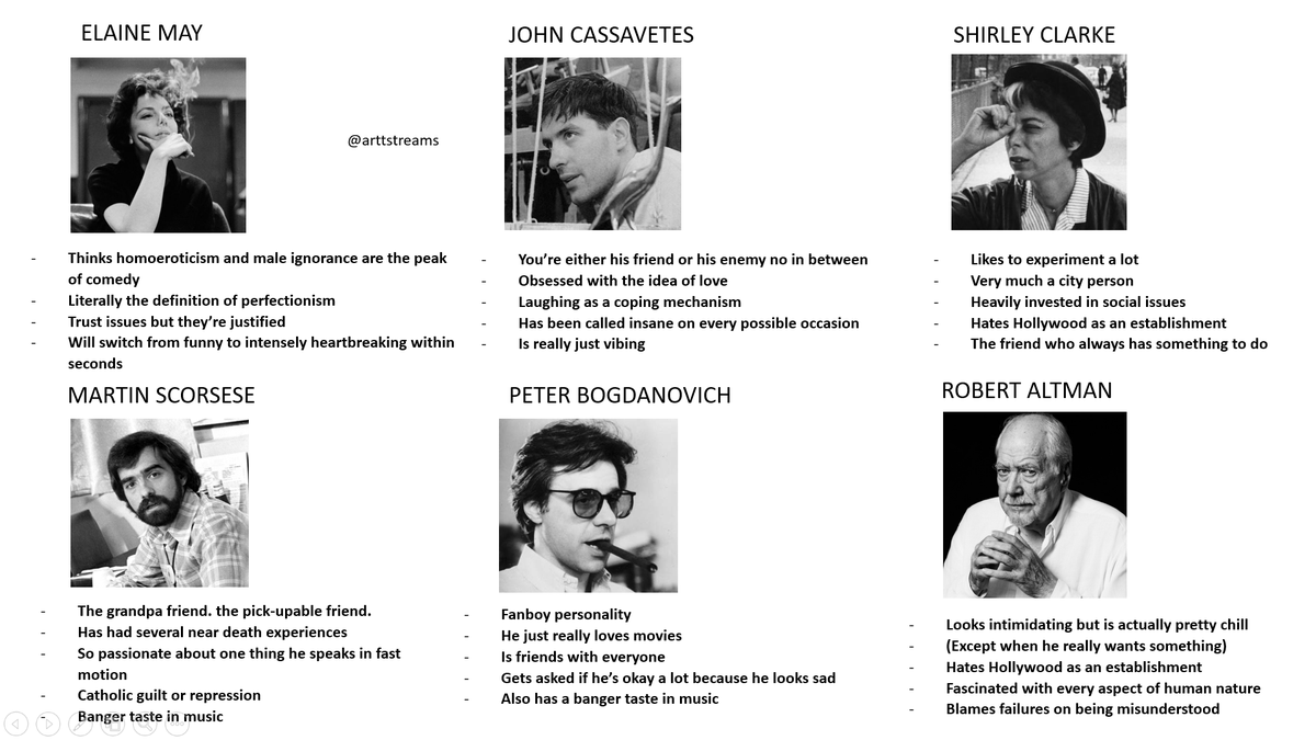 RT @arttstreams: which one are you? (new hollywood edition) https://t.co/87Sei1MMla