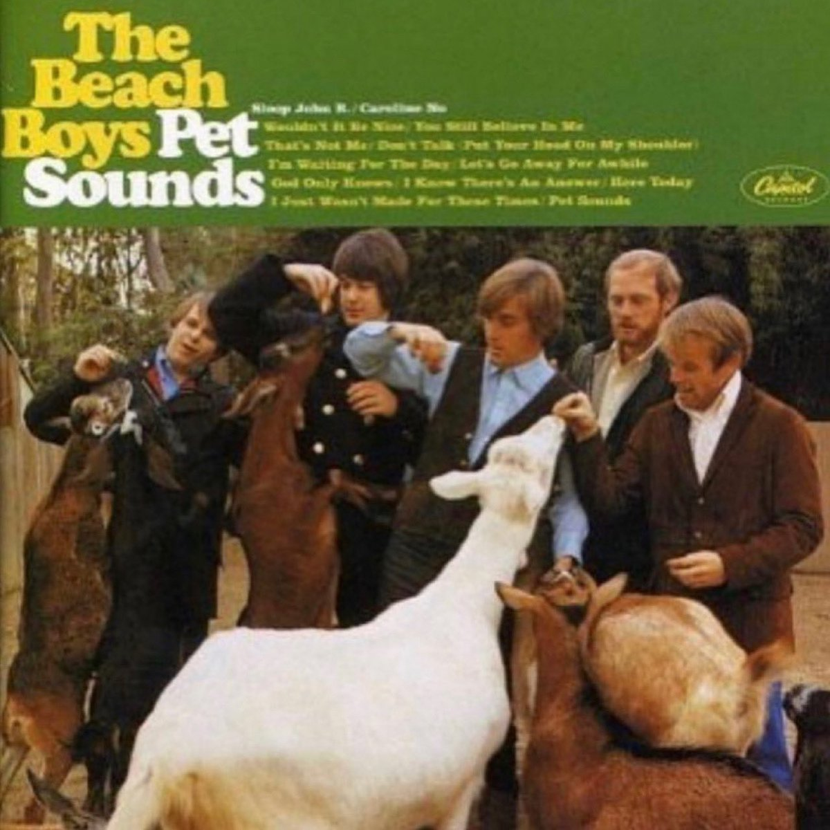 Released on this day in 1966, 'Pet Sounds' is the 11th album by the #BeachBoys. In 2004 it was preserved in the National Recording Registry by the Library of Congress for being