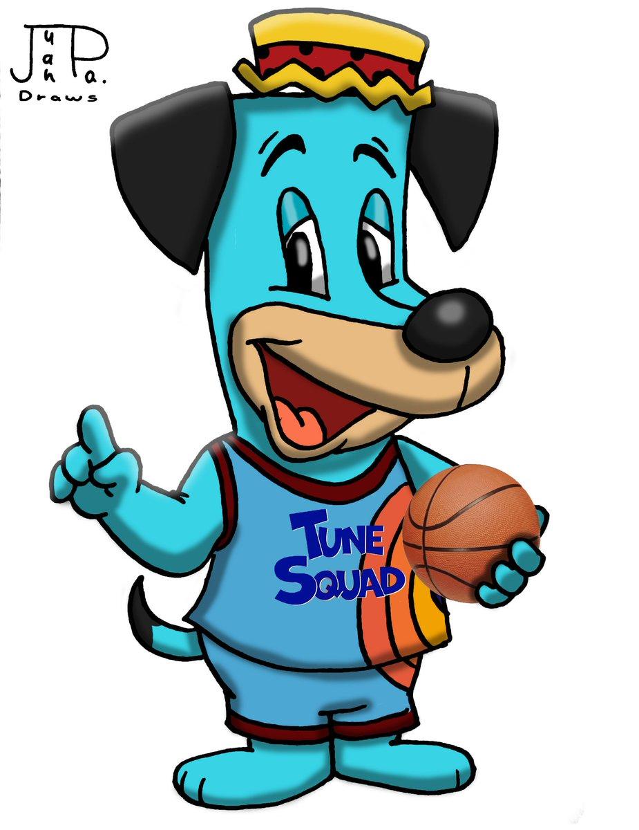 Tune Squad Huckleberry Hound #HuckleberryHound #HannaBarbera #SpaceJam2 #TuneSquad #Basketball #Montage #Shading