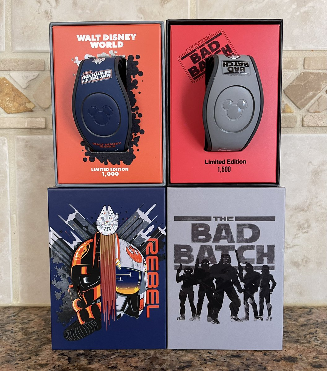 Mail Call! Got some new Star Wars MagicBands!  #MagicBand #DisneyWorld #StarWars #TheBadBatch #MayTheFourthBeWithYou #MayThe4thBeWithYou #DisneyStore #ShopDisney #DisPops