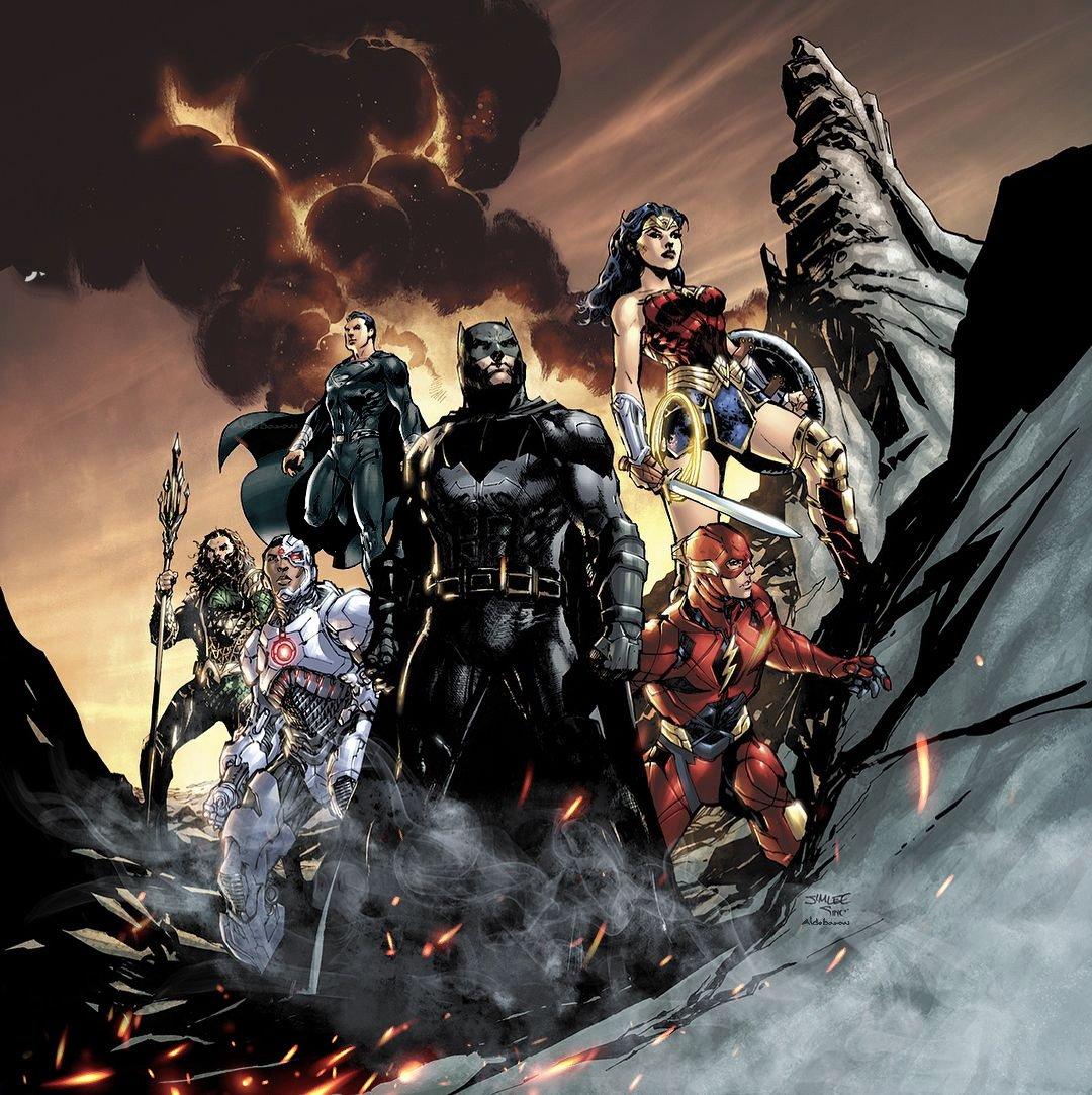 Zack Snyder x Jim Lee 👌🏻 #SnyderCut #RestoreTheSnyderVerse
