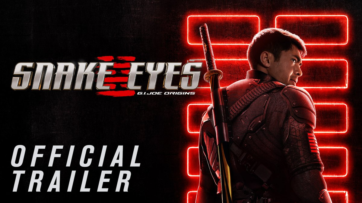 The beginning 🐍  only in theatres July 23rd #snakeeyes