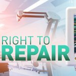 Image for the Tweet beginning: The right to repair and