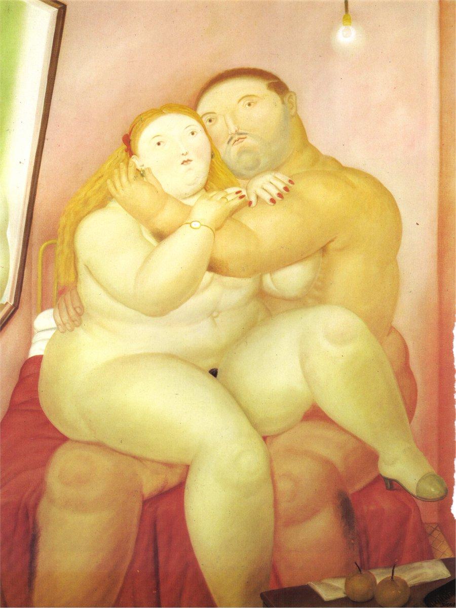 RT @ArtistBotero: Lovers, 1984 #botero #fernandobotero https://t.co/CJnwifDLfG
