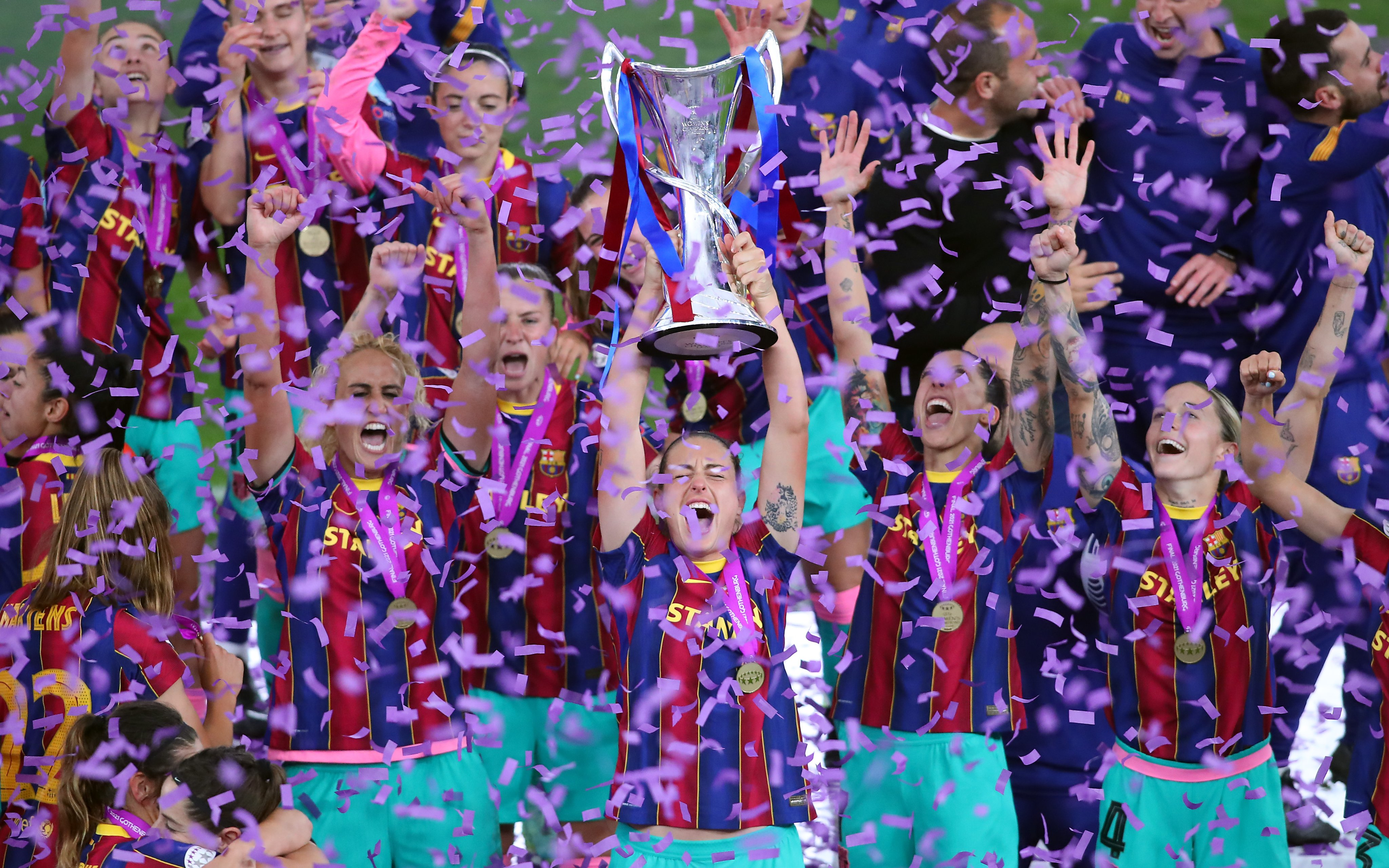 Chelsea Women 0-4 Barcelona Femeni: Ruthless first half sees Barca win first Women's Champions League title