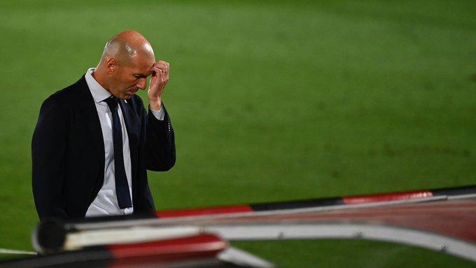 فشل خط هجوم ريال مدريد في التسجيل في  20 من