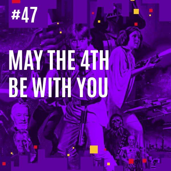 Para finalizar, quem quiser ouvir um pouco mais sobre Star Wars, gravamos um episódio no @DetonadoCast sobre a franquia para o #MayThe4thBeWithYou. Vocês podem ouvir aqui: