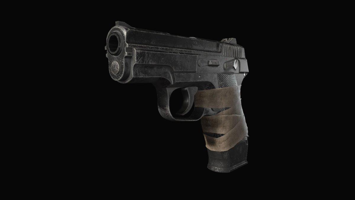 LEMI, uma das armas de Resident Evil Village.