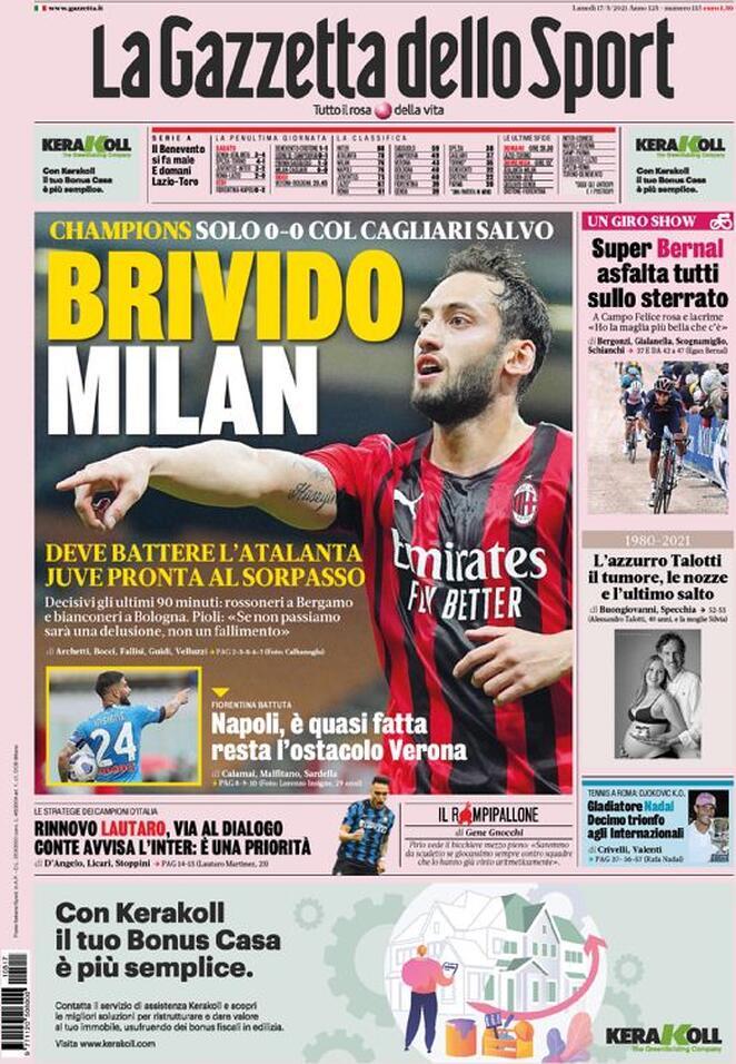 #MilanCagliari