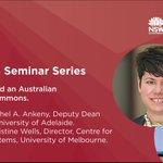 Image for the Tweet beginning: Coming soon! Prof Rachel Ankeny