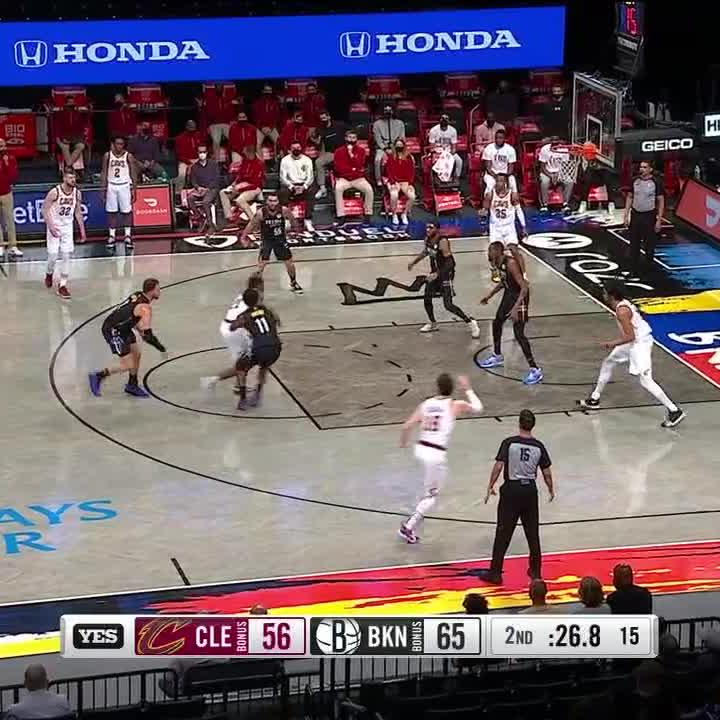 RT @malika_andrews: An absolutely wild sequence from the Brooklyn Nets... https://t.co/GxKvy5hDz2