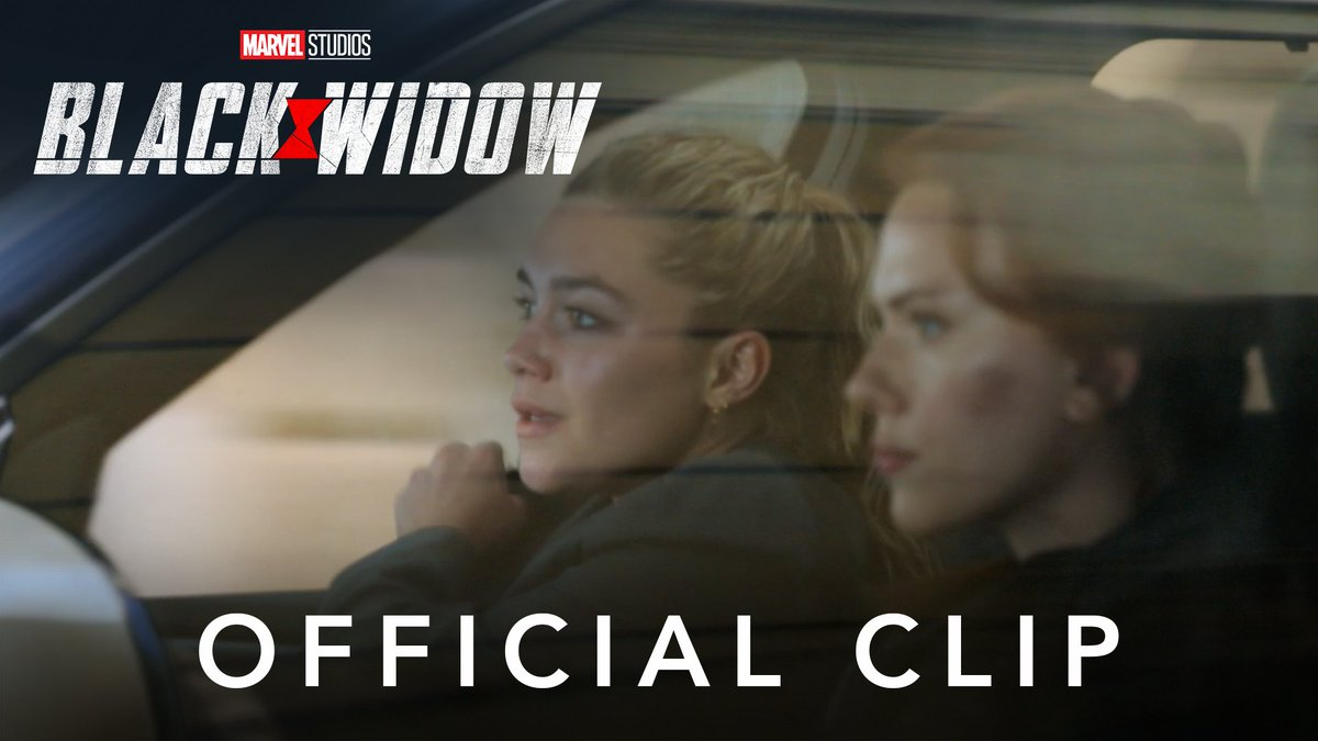 Just two sisters bonding during a high-speed chase ❤️   Check out this brand-new clip from Marvel Studios' #BlackWidow, and experience it in theaters or on @DisneyPlus with Premier Access on July 9. Additional fee required. https://t.co/DIf9iO9oNe