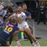 @FOXNRLLive @NRLBunker was this missed ? Different rules for different teams?